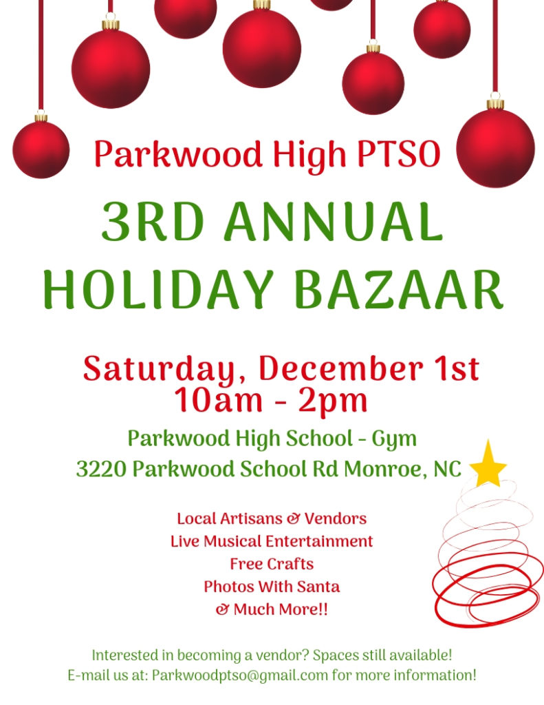 3rd annual holiday bazaar december 1st from 10am 2pm