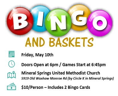 Parkwood High School PTSO Bingo & Baskets Night!! – Parkwood